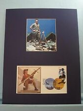 Boy Scouts: Norman Rockwell - The Scoutmaster & 100  Anniversary First Day Cover