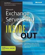 Microsoft® Exchange Server 2010 Inside Out, Tony Redmond, Good Book