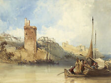 European Masters Reproduction: Villenueve les Avignon - Fine Art Print