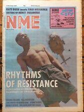 NME 12/11/88 Zeke Manyika cover, Kate Bush & Trio Bulgarka, The Sisters of Mercy