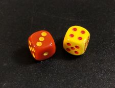 Settlers of Catan - Dice - Red/Yellow