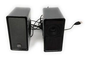 Gogroove SonaVerse USB Powered Computer Speakers 7 Watts RMS; 14 Watts Peak