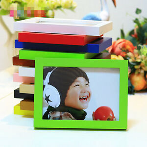 """Hot Style A4/5""""/6""""/7""""/8"""" Multi-size Room Decor Wooden Picture Photo Wall Frame"""