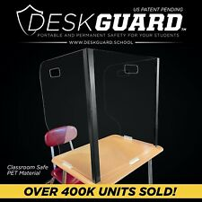 DeskGuard Portable Safety For Your Students Fits 18� x 24� Desk