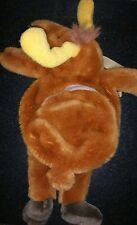 Kids Backpack Plush Stuffed Moose soft toy excellent condition