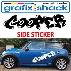 MINI ONE MINI COOPER SIDE DOOR & PANEL STICKER  VINYL/GRAPHICS/ DECALS/STICKERS