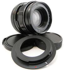 ⭐SERVICED⭐ HELIOS 44m-4 Lens + Adapt. Canon EOS EF Mount 1200D 1300D 100D 750D