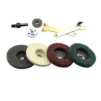 Stainless Steel Polishing Kit For Angle Grinder Flap Disc Buffing Accessories