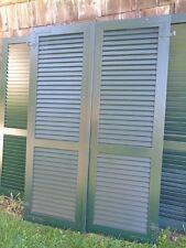 1 Paar Fensterladen - Holz - gebraucht - Höhe 200 cm - Breite 66,5 cm