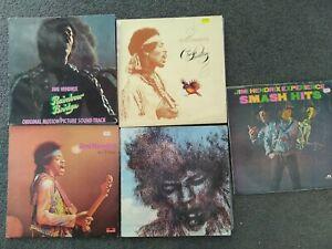 Bulk lot of Jimi Hendrix lp's