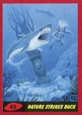 Mars Attacks The Revenge Red [99] Base Card #45 Nature Strikes Back