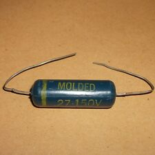 MOLDED 0.27 MFD UF Axial capacitor  150V  For Valve Amps