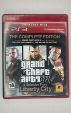 Grand Theft Auto Iv Episodes from Liberty City Ps3 Complete Edition
