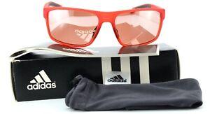 ADIDAS Sonnenbrille a423 00 6054 61-16 140 Sun Whipstart Red Matt Sport Mirrored