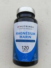 Magnésium Marin et Vitamine B6 120 CAPSULES NUTRIMEA