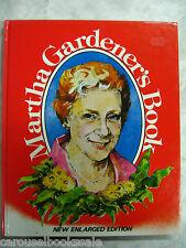 Martha Gardener's Book Martha Gardener Enlarged Edition hc 1984 2A96B40