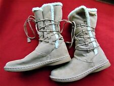 AIRWALK WOMEN'S FAUX LEATHER/SHEEPSKIN BOOTS ~ Size 8.5 ~ NEW; WITHOUT BOX