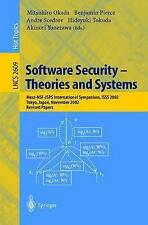 Software Security -- Theories and Systems: Mext-NSF-JSPS International Symposium