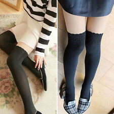 Korean Girl Women Trendy Sexy Over the Knee Tights Pantyhose Stocking High Thigh