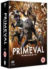 PRIMEVAL 1-5 (2007-2011): COMPLETE ITV SciFi TV Seasons Series NEW UK DVD not US