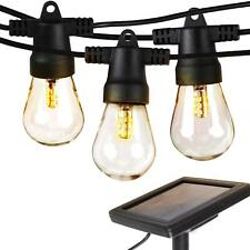 Brightech Ambience Pro - Waterproof LED Outdoor Solar String Lights - Hanging 1W