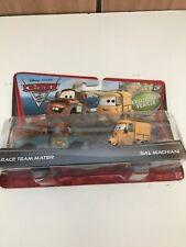 Disney Pixar Cars Mater & Sal Mancini Diecast 1:55 Combine Post