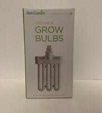 AeroGarden Grow Bulb Deluxe B Model #100340 2 Pack Compact Fluorescent Bulbs