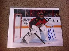 Roberto Luongo Autographed 8x10 Photo Florida Panthers Canucks Canada PROOF