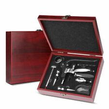 Wine Opener Set w/ Rabbit Corkscrew, Wine Stoppers & other Accessories 9 piece