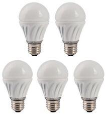 5 Stück MeLiTec-Licht 7 W LED Tropfenlampe Birne E27 (wie 40 W Glühbirne) 470Lm