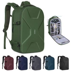 15-16 Inch Camera Backpack Bag Waterproof Mirrorless Photography Hardshell Case
