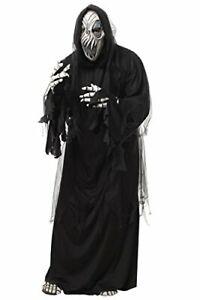 GRIM REAPER HAUNTED GHOST SPECTRE HALLOWEEN COSTUME ADULT MEN SIZE MEDIUM NEW