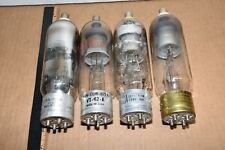 Lot of 4 JAN 872A OR VT-42A VACUUM TUBES - TESTED