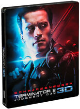 Terminator 2: Judgment Day 3D REGION-FREE STEELBOOK (2 blu-ray set) OOP