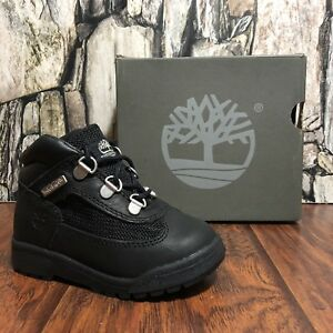 TIMBERLAND TODDLER TD BLACK HIKER FIELD BOOT NIB WATER PROOF ALL SIZES (15806)