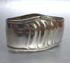 ❂ ► Serviettenring aus Silber gestempelt 835 und Meistermarke, um 1900
