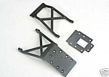 Traxxas R/C 4133 Car Repuestos placas de deslizamiento (F&R) de fibra de transmisión Nitro