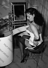 Vintage A4 Photo Poster Print of Pin-up Burlesque Star Mara Gaye-10