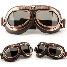 Motorcycle Goggles Vintage goggles Scooter Cruiser Pilot Aviator Helmet Glasses