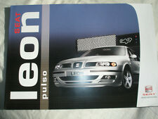 Seat Leon Pulso brochure Apr 2004 German text