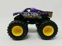 """Hot Wheels Monster Jam """"Wild Hair"""" Monster Truck 1:64 Metal base Mattel (p4)"""