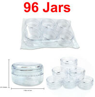 96 Jars 15 Gram/15ML High Quality Lotion Cream Cosmetic Sample Jar Containers