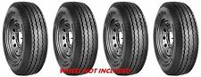 (FOUR)  8-14.5 8x14.5 LPT Hwy LPT Trailer Tires LRG 14Ply Rated Heavy Duty