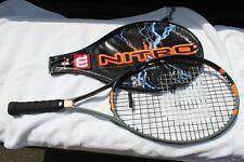 """Wilson Nitro Titanium Graphite 26 Soft Shock 4"""" Lo Super Light Tennis Racquet"""