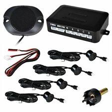 PDC Einparkhilfe 4 Sensoren Nachrüsten hinten Parkhilfe/Rückfahrwarner Schwarz