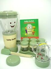Baby Bullet Complete Food Blender Processor System Never used Perfect