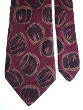 "Emporio L'Uomo Men's Silk Novelty Neck Tie Purple 3 3/4"" x 56"""