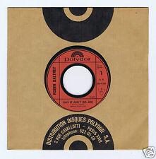 45 RPM SP PROMO ROGER DALTREY SAY IY AIN'T SO JOE