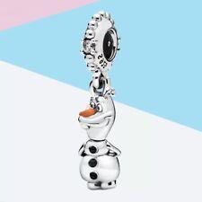 Charm Olaf, Frozen Disney, de autentica plata de ley s925