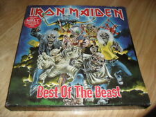 IRON MAIDEN -THE BEST OF THE BEAST- AWESOME 4 LP BOX SET FROM 1996 UK EXCELLENT